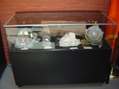 Fire dept. items recovered from the ruins of the World Trade Center.