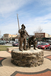 PALATINE IL FIREFIGHTER MEMORIAL