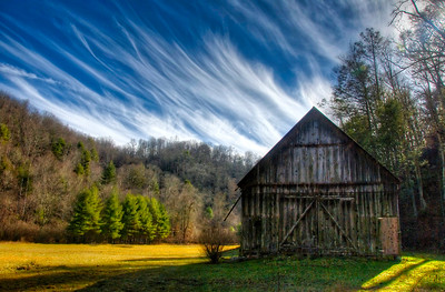 Barn and House / Goose Creek