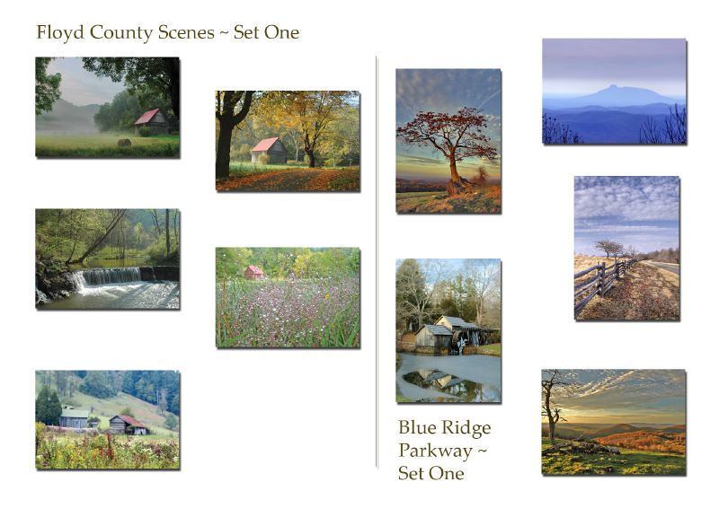 Note Cards from Floyd County, VA