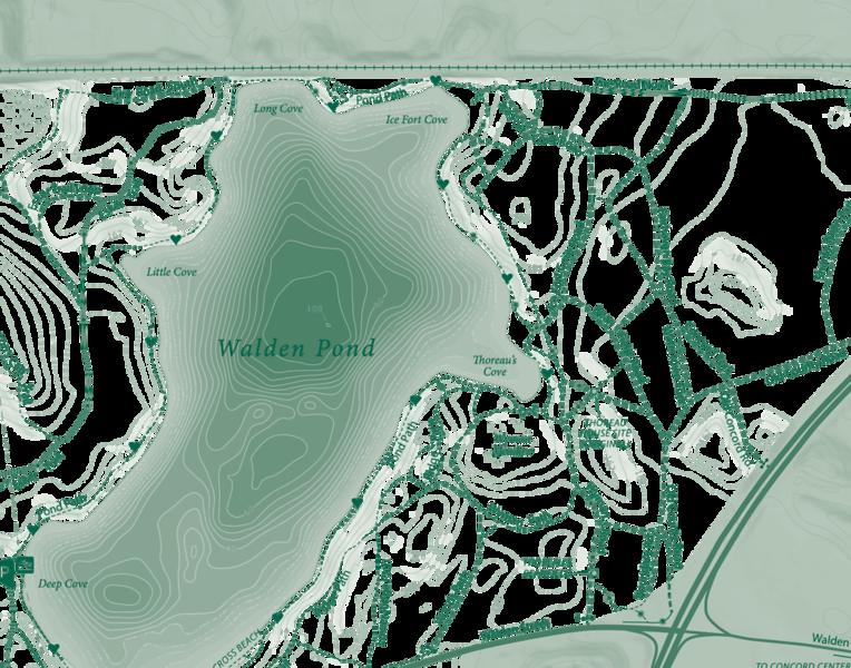 WALDEN POND PNG
