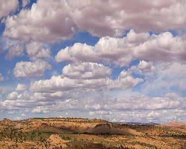 Cumulus skies, Southern Utah  2013