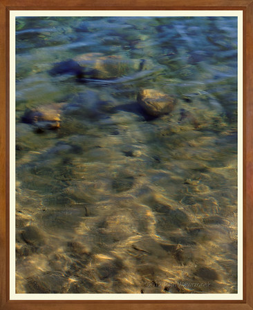 Stones, Sand, Water and Light