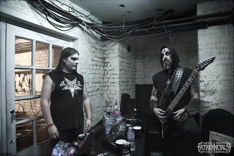 Backstage Nambucca, London April 2016.