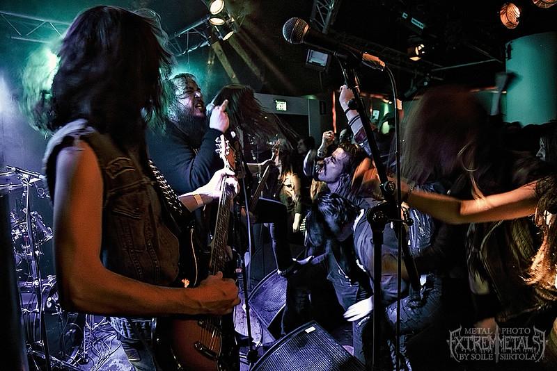"""GEHENNAH releaseparty """"Too Loud to Live, Too Drunk to Die"""" – Nalen Klubb 3/3 2016"""