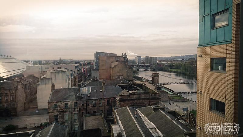 Good Morning Glasgow!. April 2016.