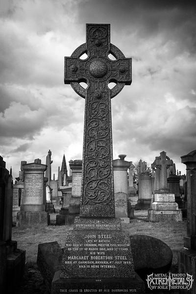 Glasgow Necropolis. April 2016.