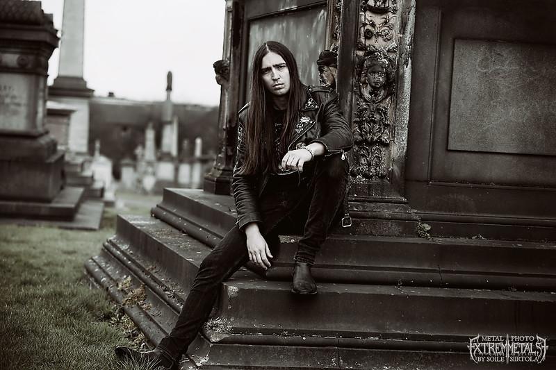 A quick photo shoot with Vlad @ Glasgow Necropolis. April 2016.