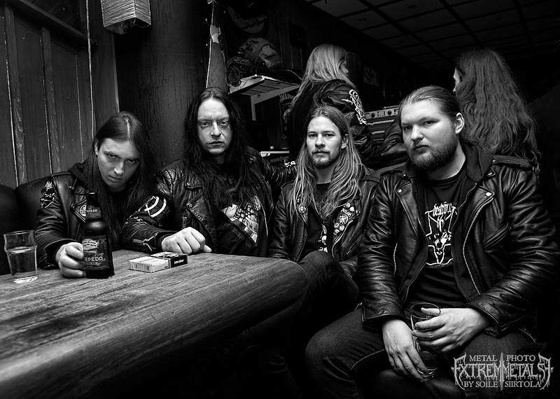 Vlad, Rogier, Simon & Eric (VALKYRJA,NIFELHEIM etc) -  Sthlm Copperfields 6/2 2016