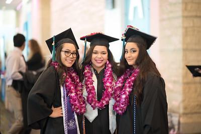 Gabriela Kober (left), Gabriela Coronado, and Lara Alzakzok.