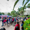 The Hector P. Garcia Plaza was occupied with guests who honored Veterans Day at TAMU-CC.