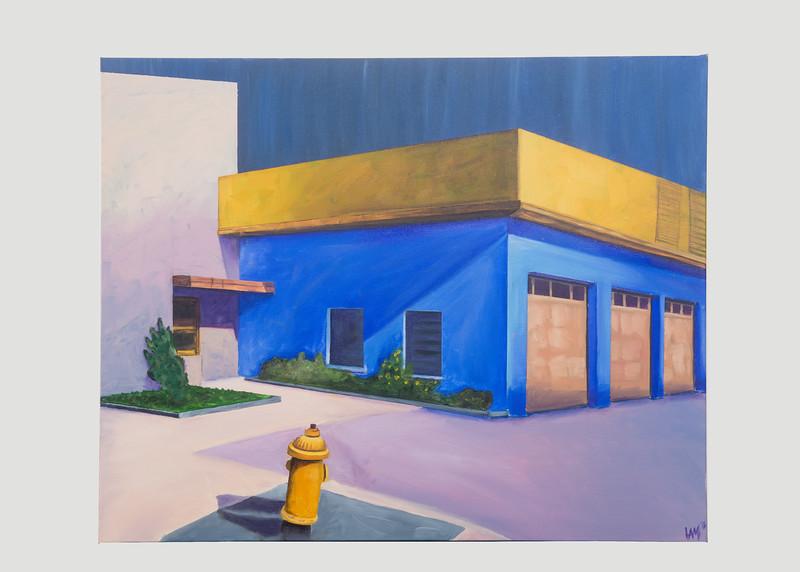 Artist: Allison Montgomery<br /> Art title: Uptown Dream<br /> Medium: Oil