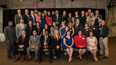 CCU40 2017 Honorees gather for a group photo.