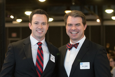 Chase McRoberts (left), and Dr. Chad Allen