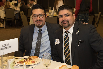 Luis Sanchez (left) and Jonathan Torres.