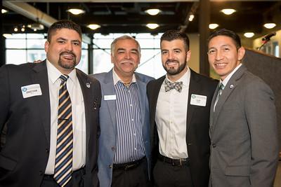 Jonathan Torres (left), Alex Garcia, Sam Longoria, and Ben Molina.