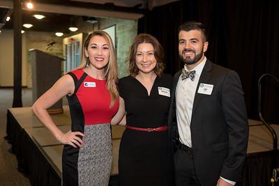 Jennifer Vela (left), Kristina Leal, and Sam Longoria.