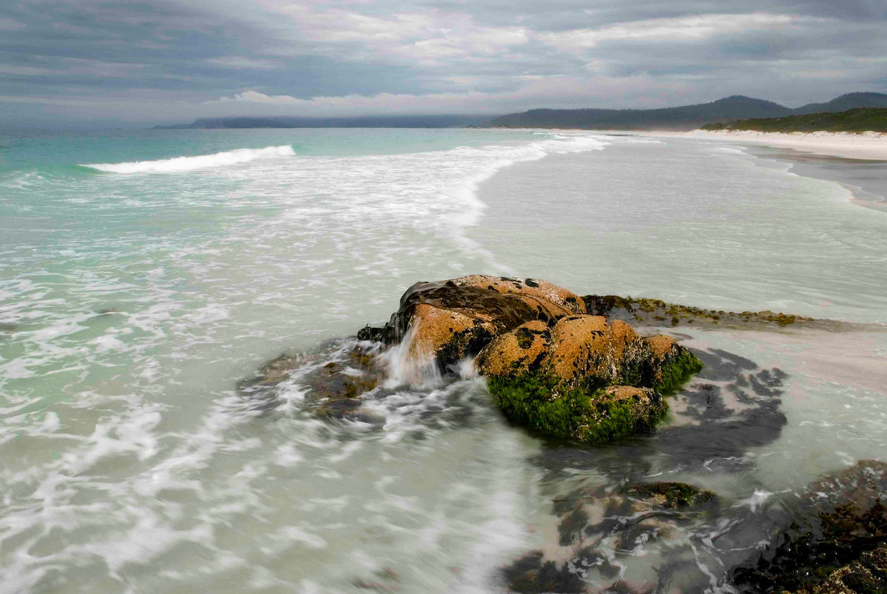 Friendly Beaches was named after an early meeting between British sailors and the Great Oyster Bay Aboriginal groups. The spirit of camaraderie did not last long...