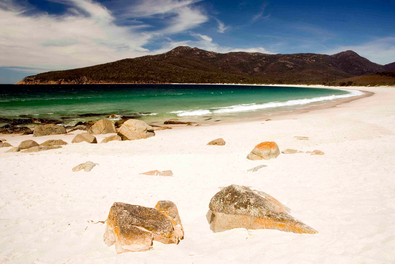Wineglass Bay is consistently rated as one of the ten most beautiful beaches in the world.