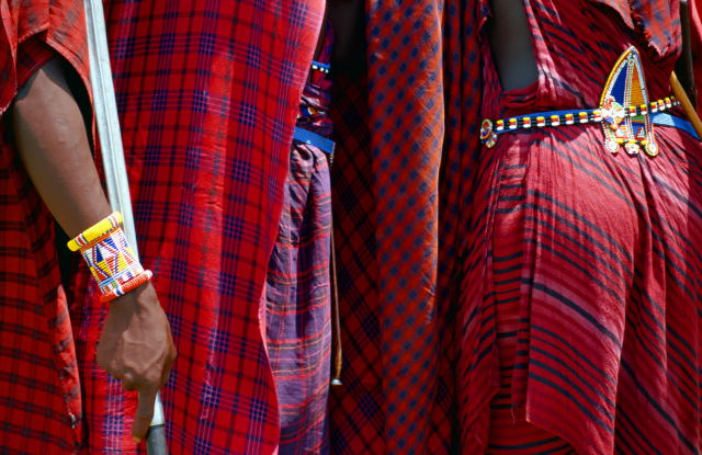 AFRICA -The Maasai morani (warriors) are Africa's original aristocrats