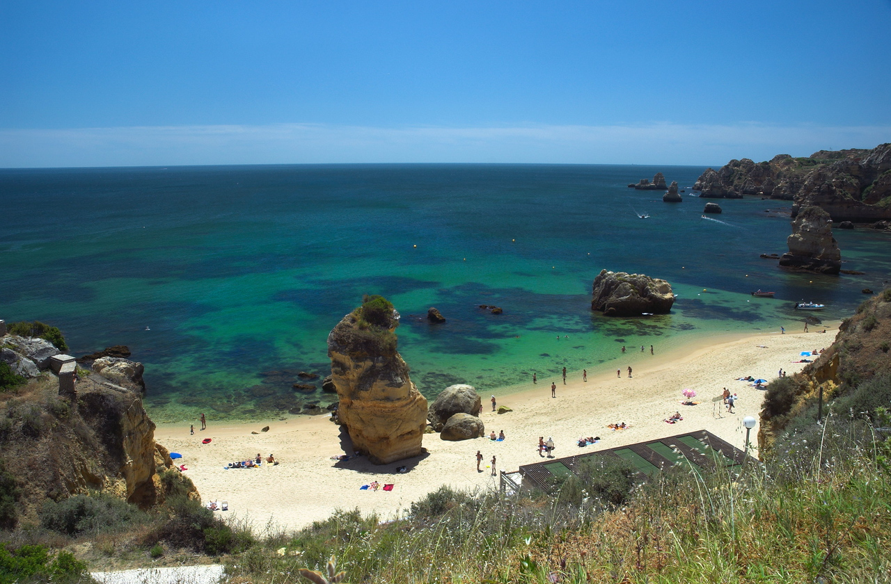 The apparently secluded Praia Dona Ana lies just a couple of kilometres from central Lagos