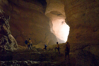 Despite its awesome 20 metre high mouth, Kaftary Cave remained virtually hidden at the head of a gorge in the Eastern Hajars until very recently.