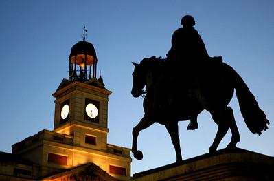 Deatil of Puerta del Sol
