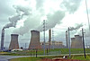 Plant Bowen is a coal plant and one of the largest in the Eastern US.<br /> (Thanks for the info David)