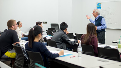 Dr. Zebda explains different kinds of overhead during his Cost Accounting lecture.