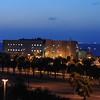 Harte Research Institute Building in the evening