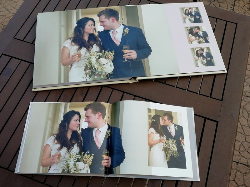 Wedding Albums - Layflat and Coffee Table Boom - Neil Currie Photography - Staffordshire