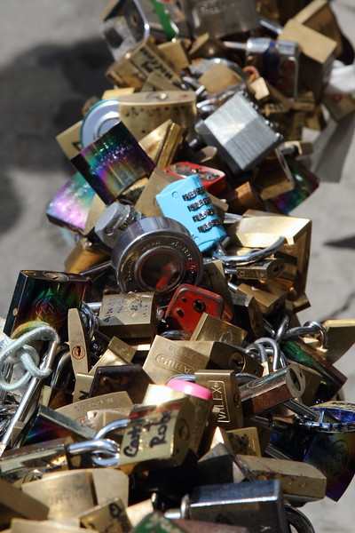 Locks of Love by River Florence Italy
