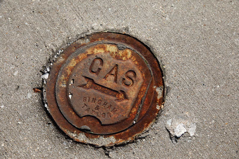 Gas Access Cover