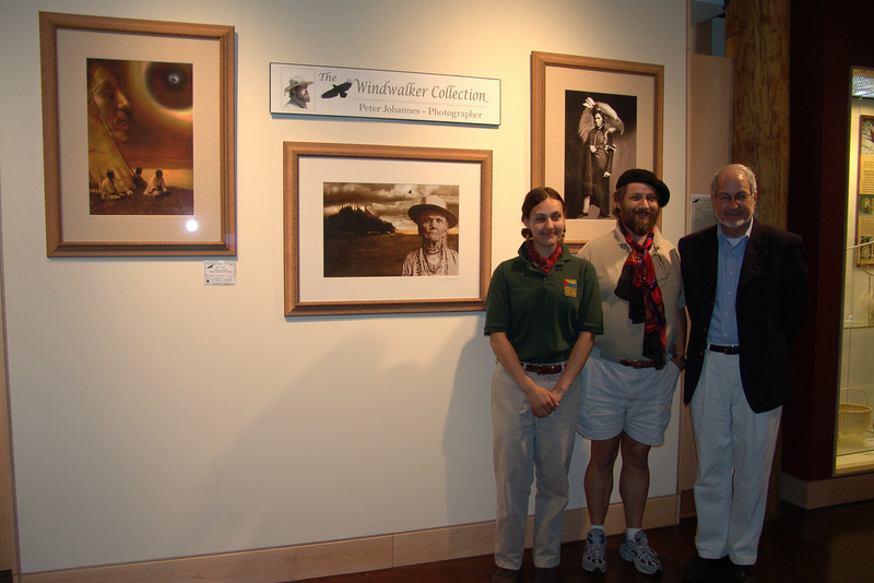 "OPENING OF ""WINDWALKER EXHIBITION"" AT THE INDIAN WING OF THE HERITAGE MUSEUM - CALAIS, MAINE"