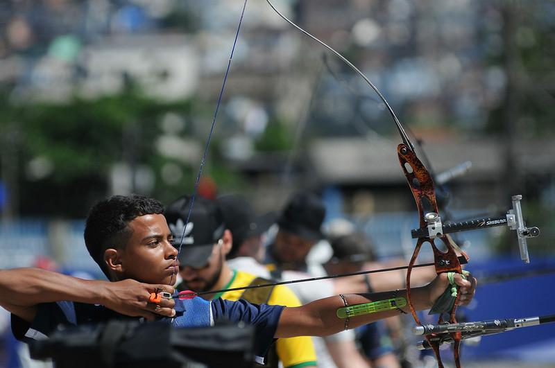 Rio de Janeiro - 29.10.14 Foto de Rossana Fraga/CBTARCO - Local: Sambódromo RJ - NF: