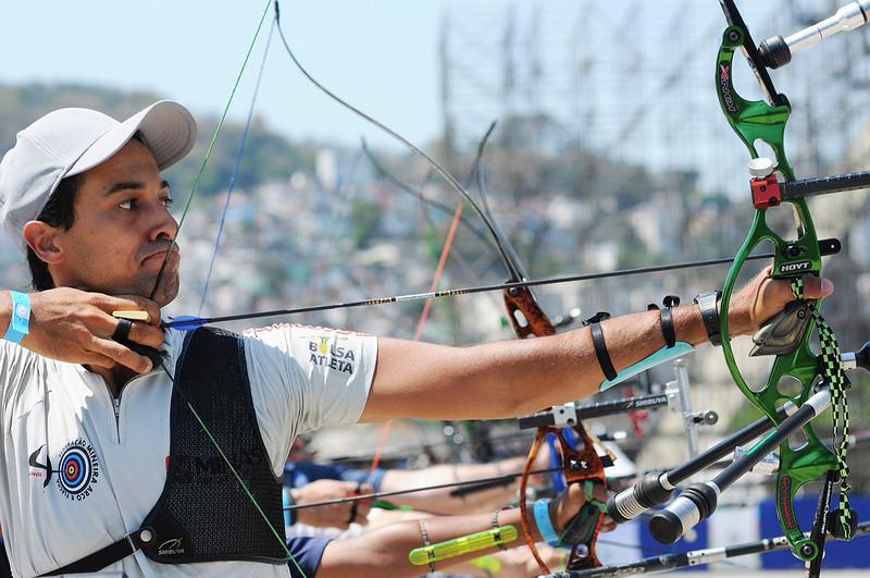 Rio de Janeiro - 40 Campeonato Brasileiro de Tiro com Arco - 31.10.14 - Foto de Rossana Fraga/CBTARCO - Local: Sambódromo RJ NF: Daniel Xavier