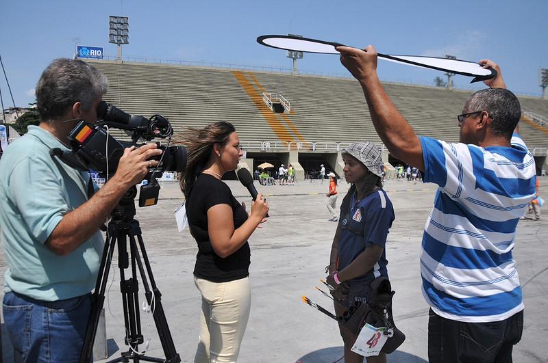Rio de Janeiro - 40 Campeonato Brasileiro de Tiro com Arco - 31.10.14 - Foto de Rossana Fraga/CBTARCO - Local: Sambódromo RJ