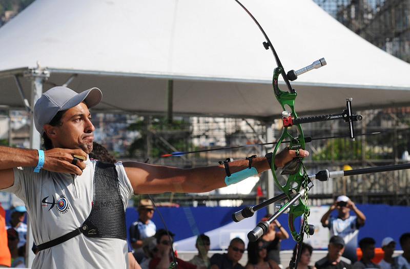 Rio de Janeiro - 40 Campeonato Brasileiro de Tiro com Arco - 01.11.14 - Foto de Rossana Fraga/CBTARCO - Local: Sambódromo RJ