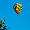 Hot Air Balloon over my house.