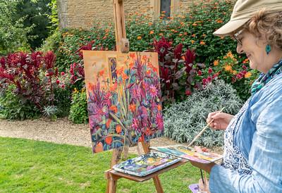 Artist-Great Chalfield Manor, Wiltshire