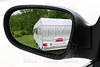 rearview car driving mirror meadow caravan