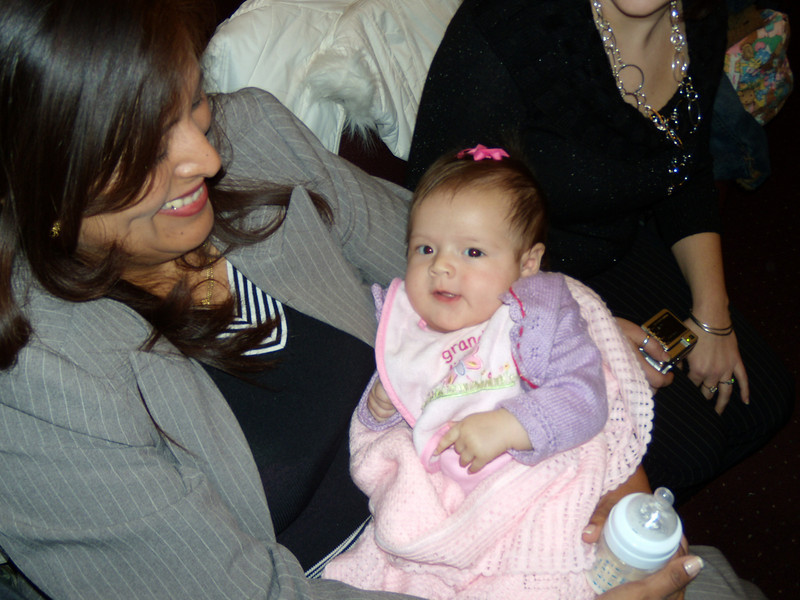 1. Randy's wife Ada and three-month old daughter Kathleen at the family visitation time at the Callahan Funeral home in Callahan, FL on Wed. evening, Jan 21, 2009.<br /> <br /> [NOTE: YOU CAN RIGHT CLICK ON ANY OF THESE PICTURES AND SAVE THEM TO YOUR COMPUTER, OR ORDER REPRINTS FROM SMUGMUG.]