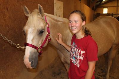 Rachel Gets a Horse!  August 2013
