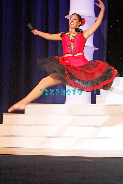 Talent Competition - Performing a Jazz Dance Routine