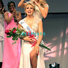 OCEAN CITY, NJ - JUNE 16:  Lindsey Petrosh, Miss Atlantic County, 23,  from Egg Harbor City is crowned Miss New Jersey 2012 by former (2011) Miss New Jersey Katharyn Nicolle at the Ocean City Music Pier,  on June 16, 2012 in Ocean City, New Jersey.