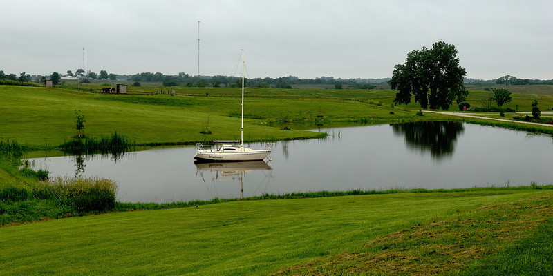Let's go sailing around the pond<br /> I found this in St Charles , Iowa<br /> Thank you for your comments