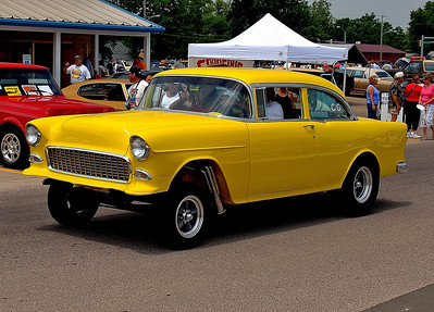 Good Morning , Hope you are having a great week Thank You for your comments The little tires were used for drag racing and for clearance for the headers