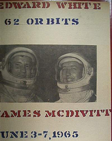 MISSION CLIPPINGS GEMINI 4