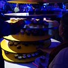 Supposedly, there was a 750lb cake, but all I saw were cupcakes