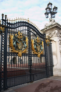 Buckingham palace gates